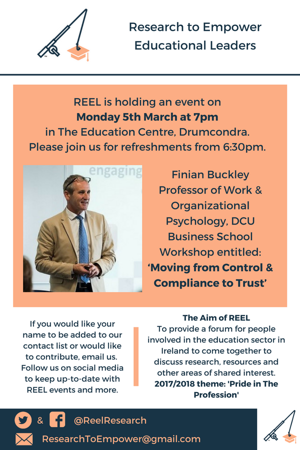Finian Buckley Event Poster